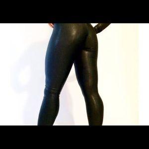 Black sexy cat suit